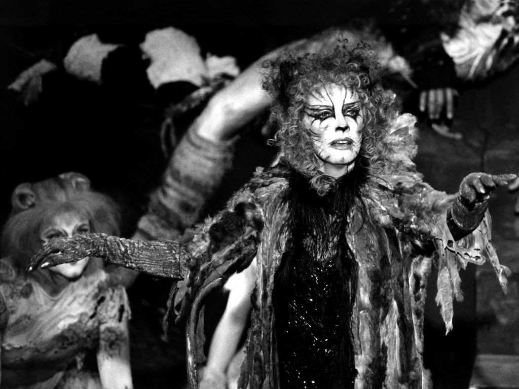Betty Buckley in the 1983 role that put her on the Broadway map, Grizabella in the musical Cats.