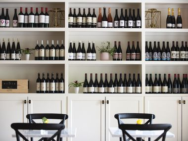 Trova Wine + Market in Dallas is expected to open July 16.