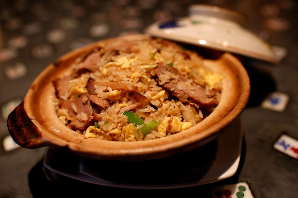 Seared duck breast fried rice