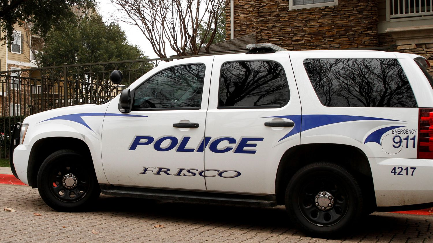 A Frisco police vehicle is shown in this file photo.