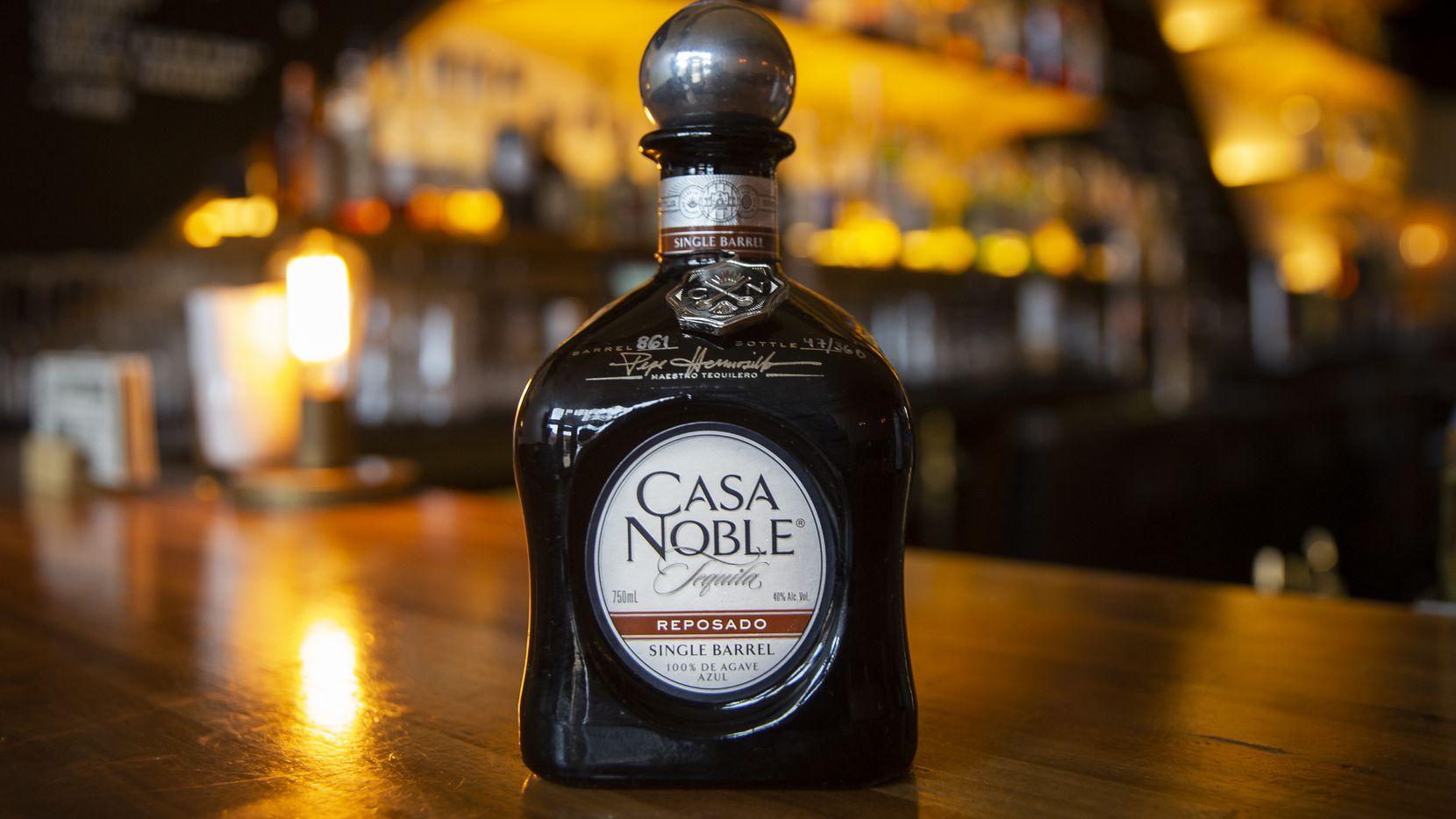 The Casa Noble Reposado Deep Ellum Edition singe barrel tequila at Shoals