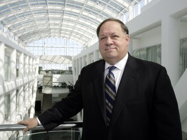 Ronald Rittenmeyer, who's now CEO of Tenet Healthcare, is seen in 2007, when he was leading EDS.
