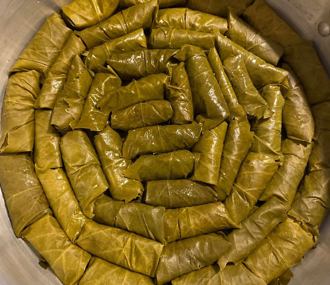 Dolmades, or stuffed grape leaves, are hand-rolled and steamed at the new McKinney restaurant Sotiria Authentic Greek Food.