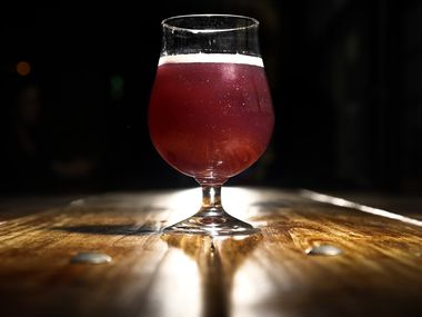 Peep This Collab beer was a purple-glitter sour ale brewed with Peeps candy from The Collective Brewing Project in Fort Worth. The brewery announced its closure in early January 2020.