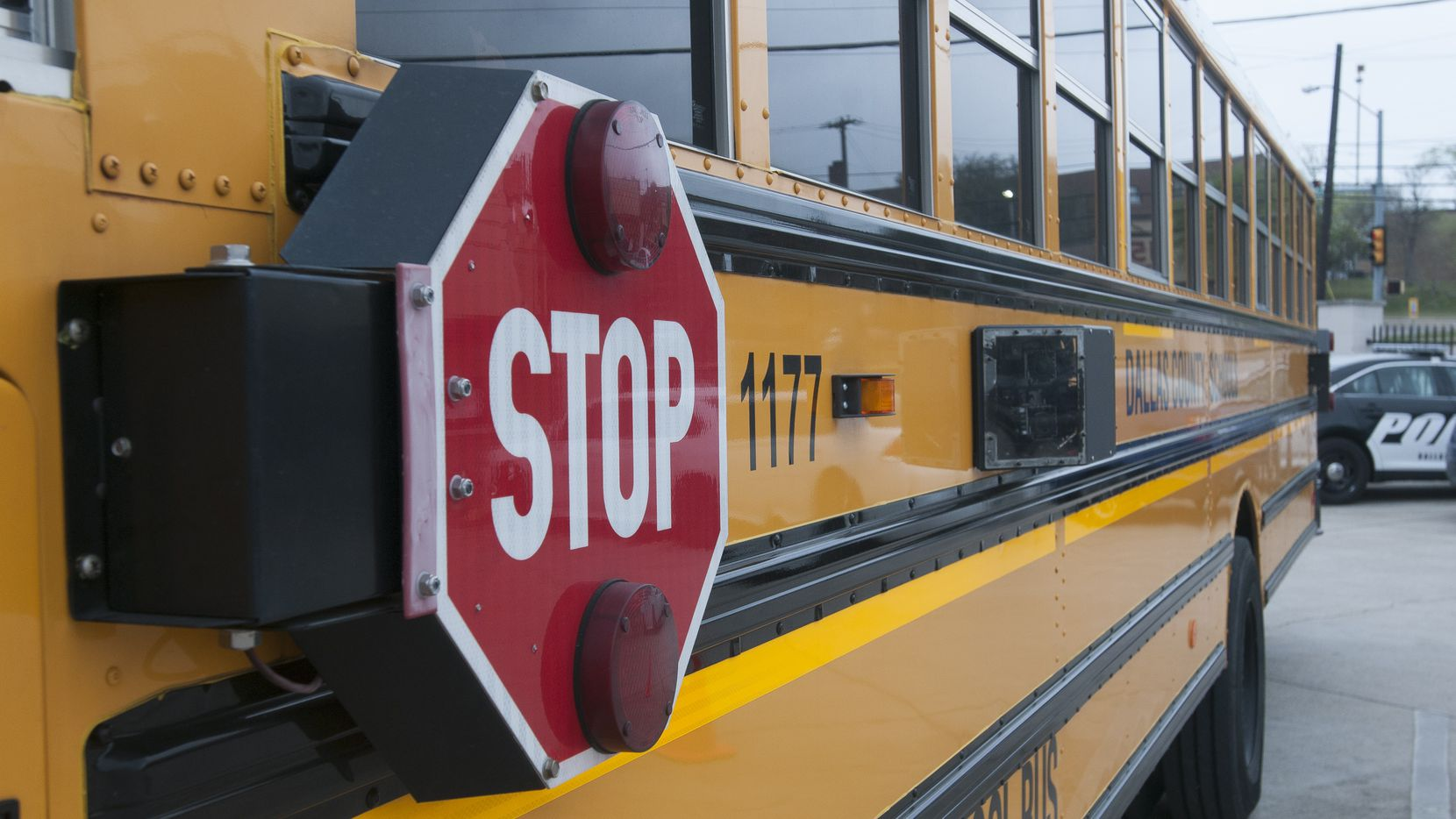 A school bus is pictured in this file photo. Smith Elementary School in Collin County will close for one week due to COVID-19 cases.