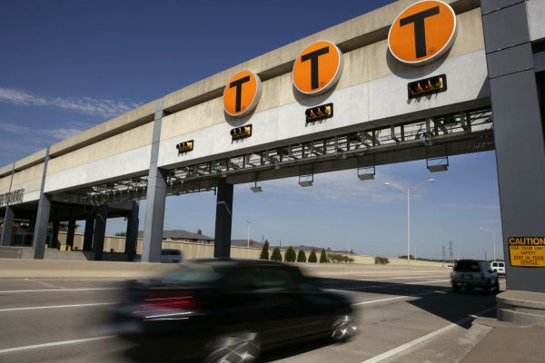 File photo of North Texas Tollway Authority gates.