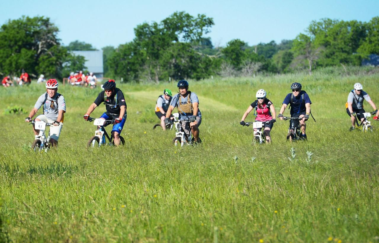Fourteen Warrior 100K alumni rode alongside former President George W. Bush and 17 wounded veterans who were new to the event.