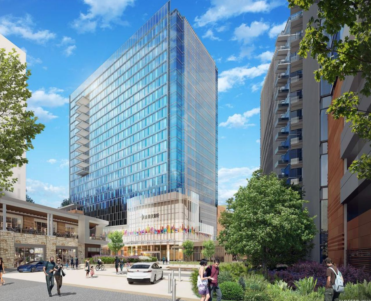 Developer Cawley Partners plans 1.5 million square feet of offices in the Grandscape project.