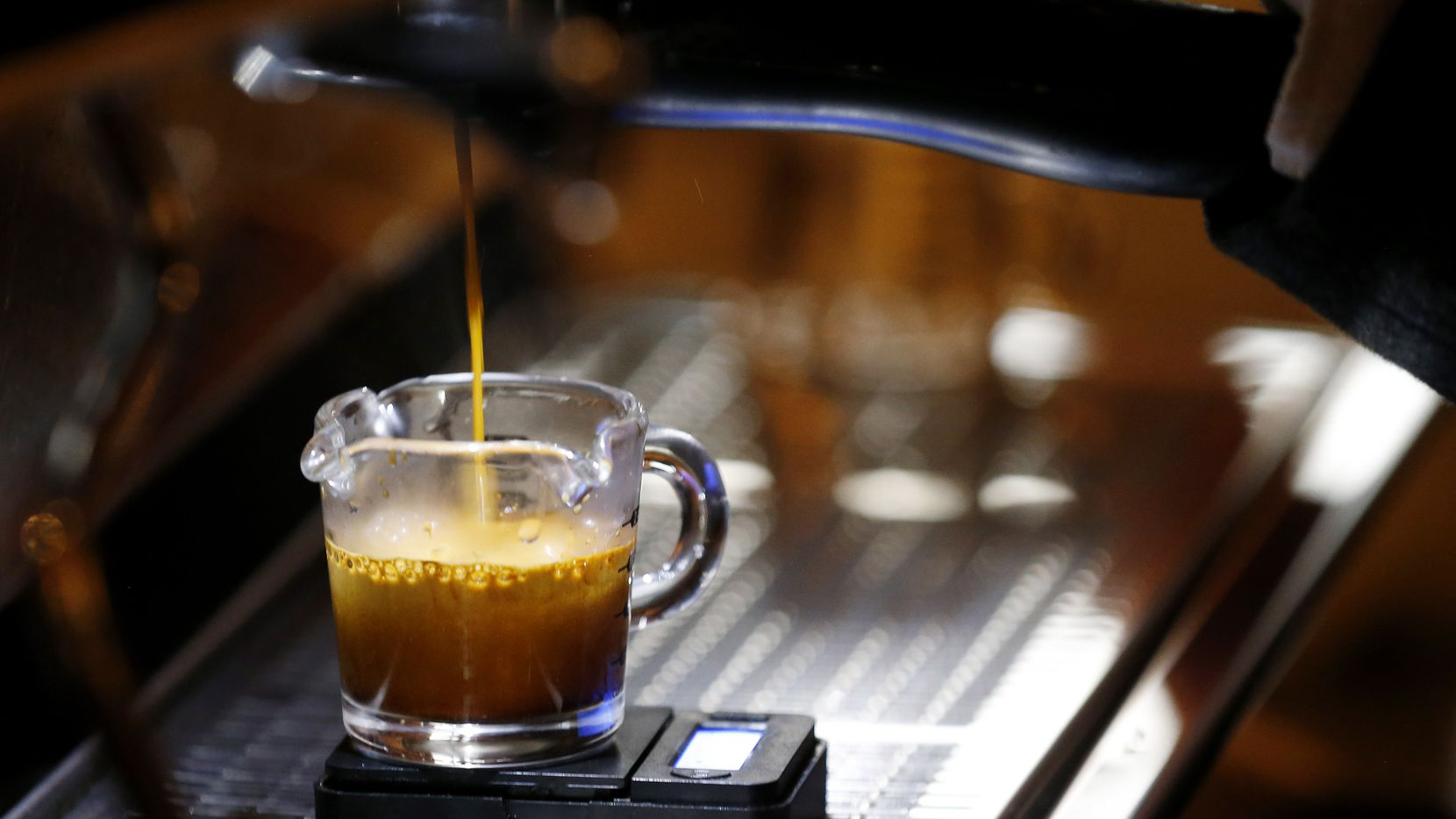 Barista Kendal Kohlman has created a coffee program at The Old Monk. The Irish pub now serves coffee in the mornings, cocktails in the afternoon and evenings.