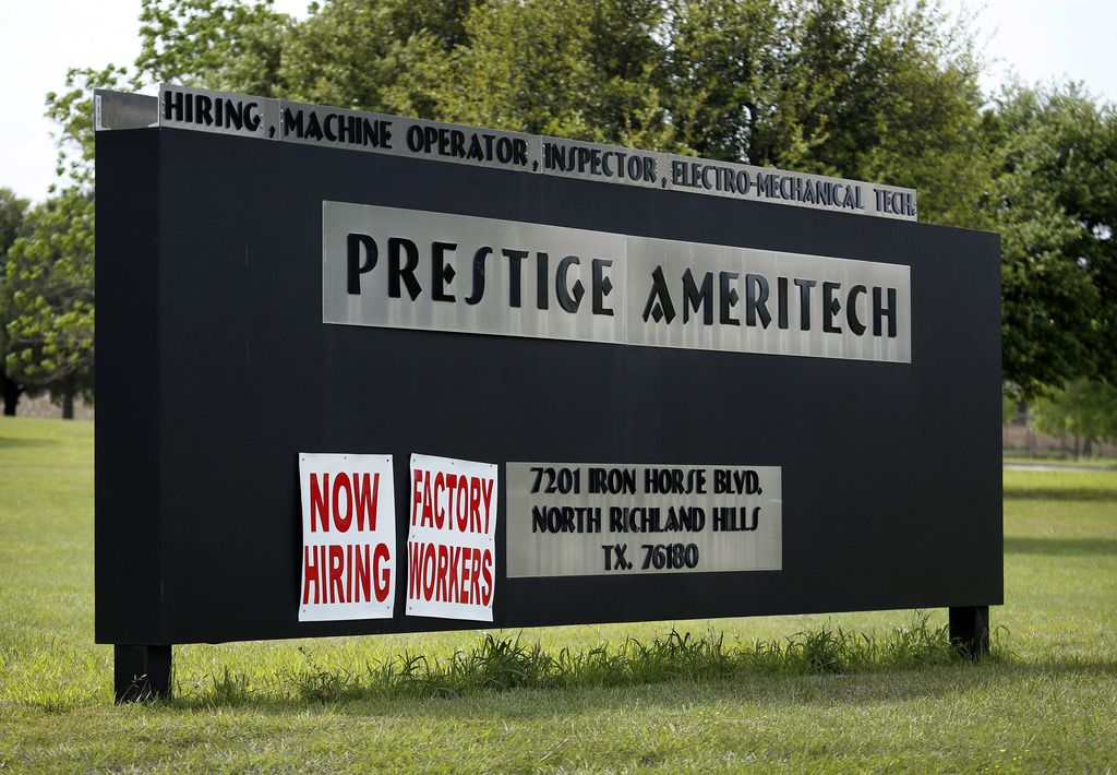 The nation's top domestic medical mask maker in Texas is hiring.