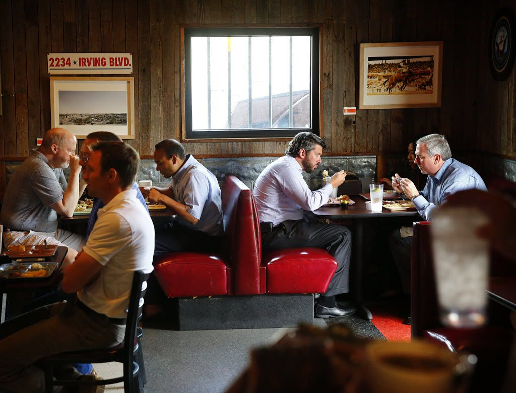 The Slow Bone's dining room in 2013. Owner Jack Perkins has sold the barbecue restaurant to a company headed by Eatzi's executives.