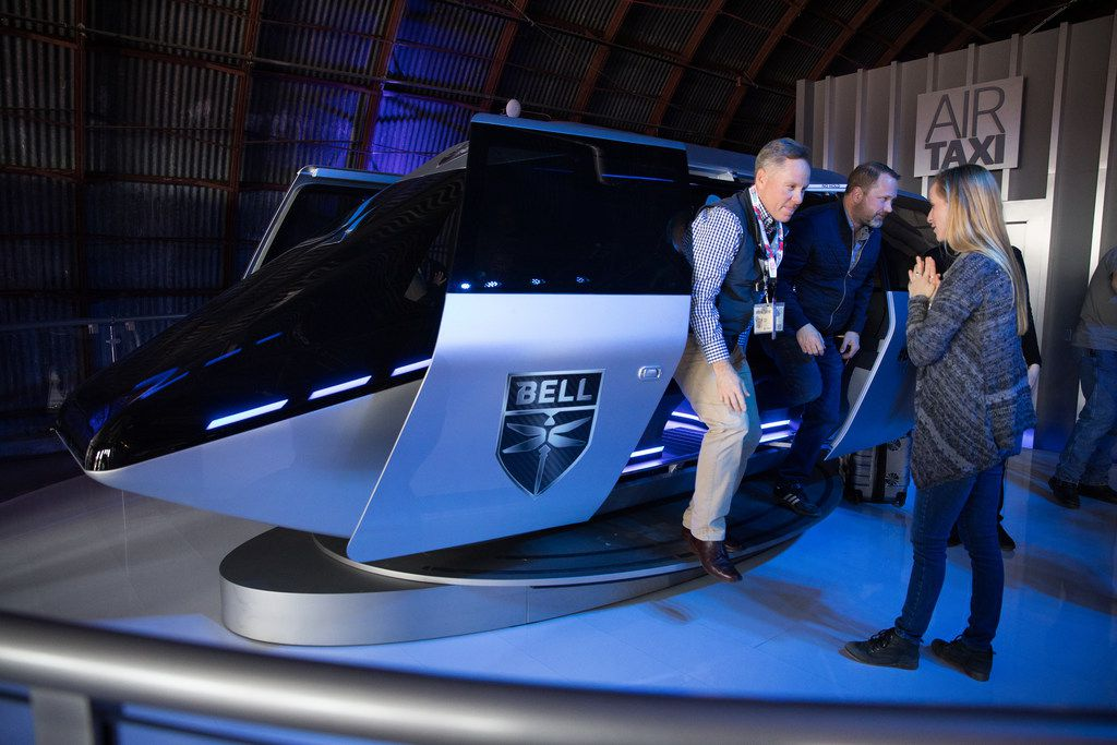 Bell Helicopter offered a glimpse of a air taxi prototype in March at SXSW.