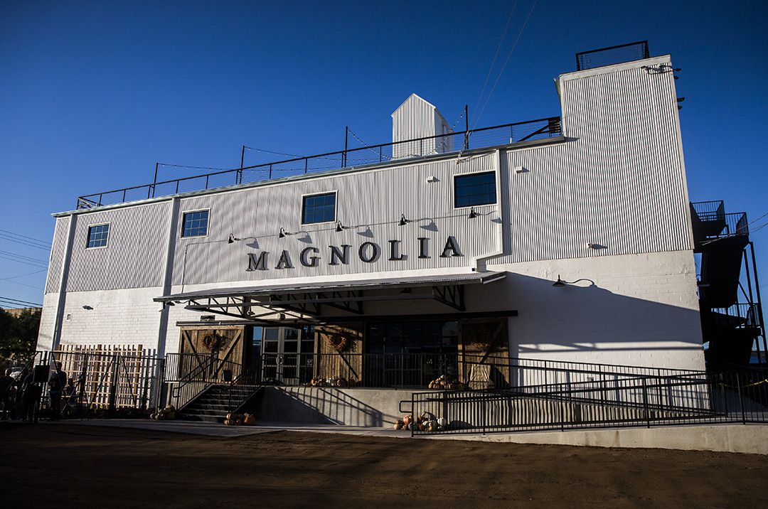 Magnolia Market at the Silos transformed an abandoned, trash-fillled building in Waco.  (Ashley Landis/The Dallas Morning News)