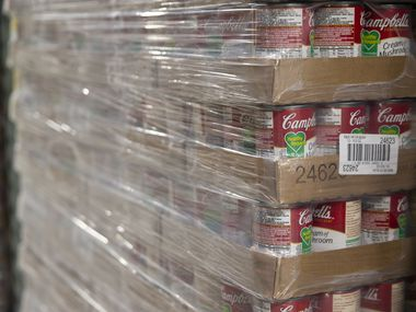 Campbell's Soup employees in Paris, Texas, are receiving $2 an hour pay increases during the coronavirus pandemic.