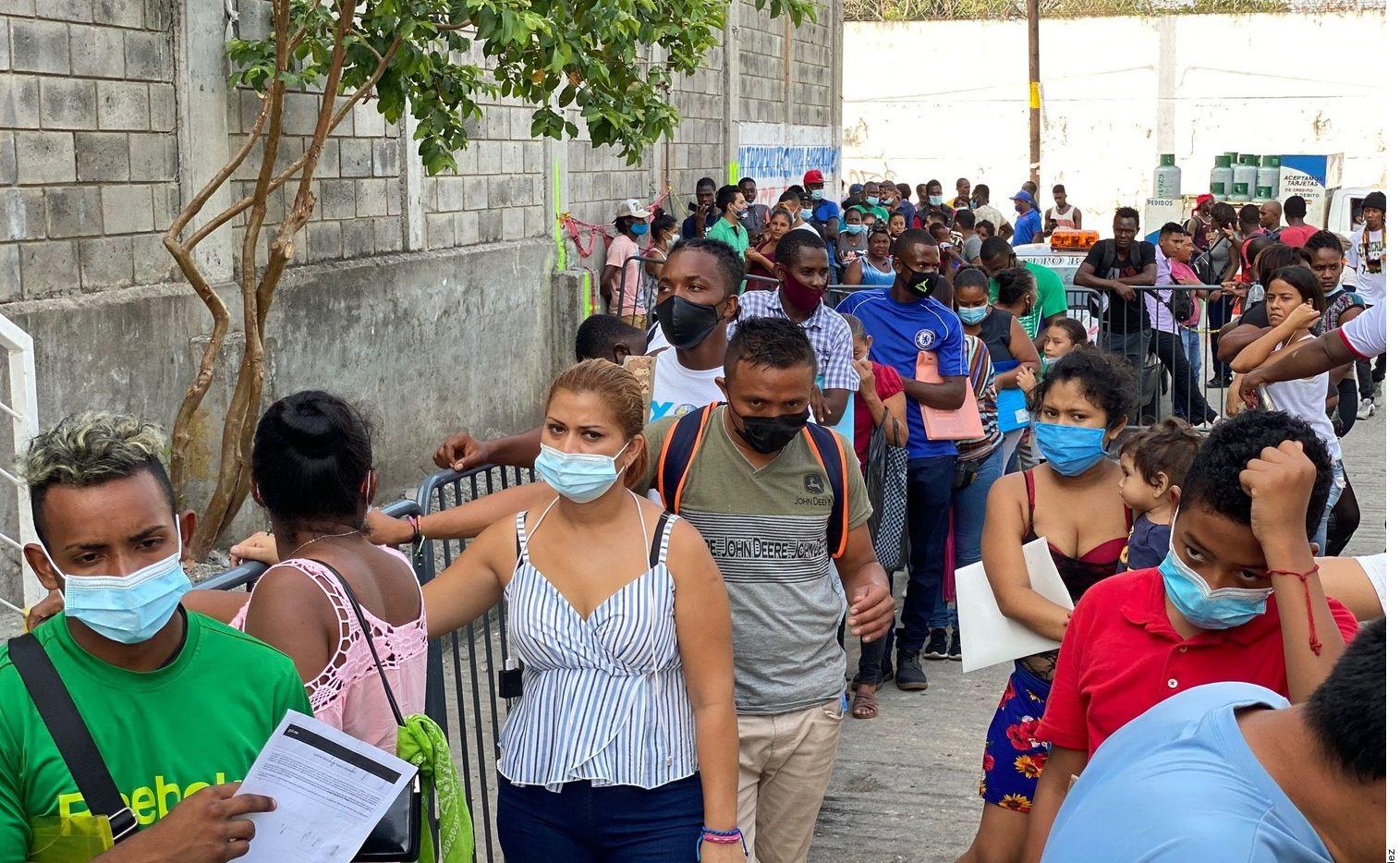 Entre enero y julio de 2021, 64,378 extranjeros han solicitado asilo en México, cifra mayor que todo lo registrado entre 2013 y 2018.