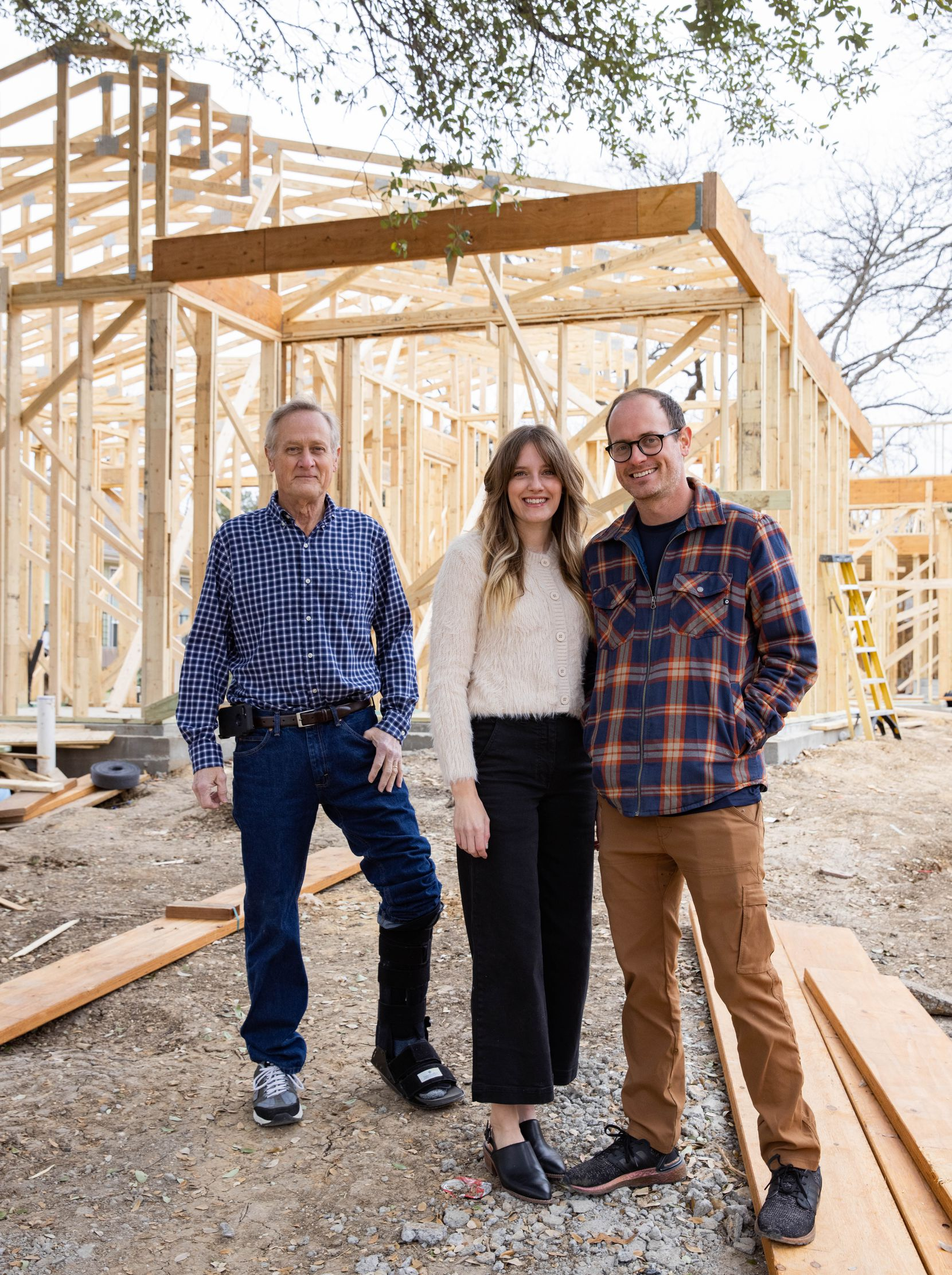 The Thurmond family pivoted their 130-plus-year-old family business, Nitsche, during the pandemic from an event construction business to home renovations.