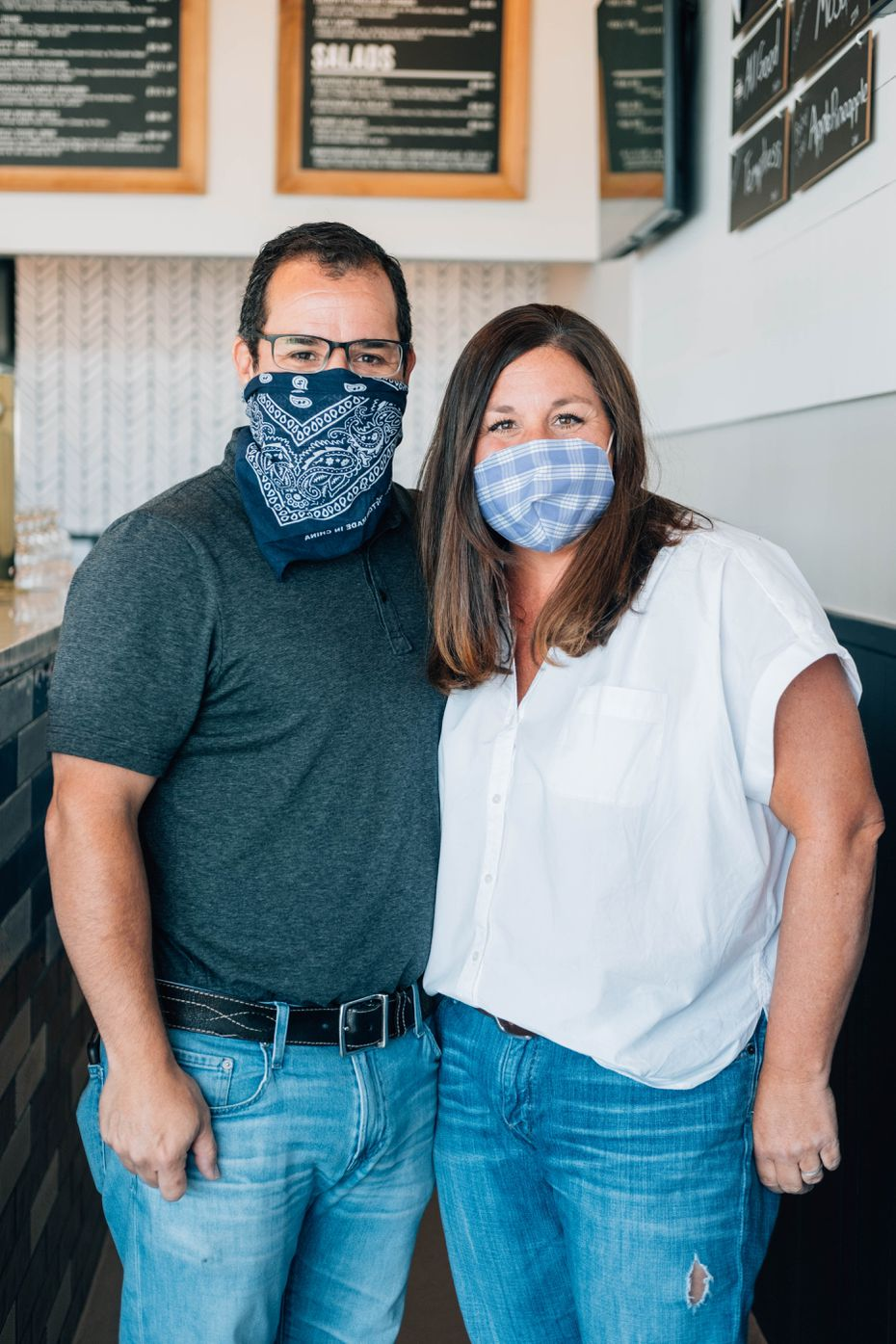 Kevin and Jenny Galvan co-own four Haystack Burgers in Dallas-Fort Worth. One more is expected to open before 2020 ends.