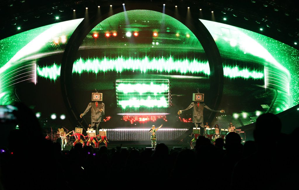 Katy Perry performs at American Airlines Center.