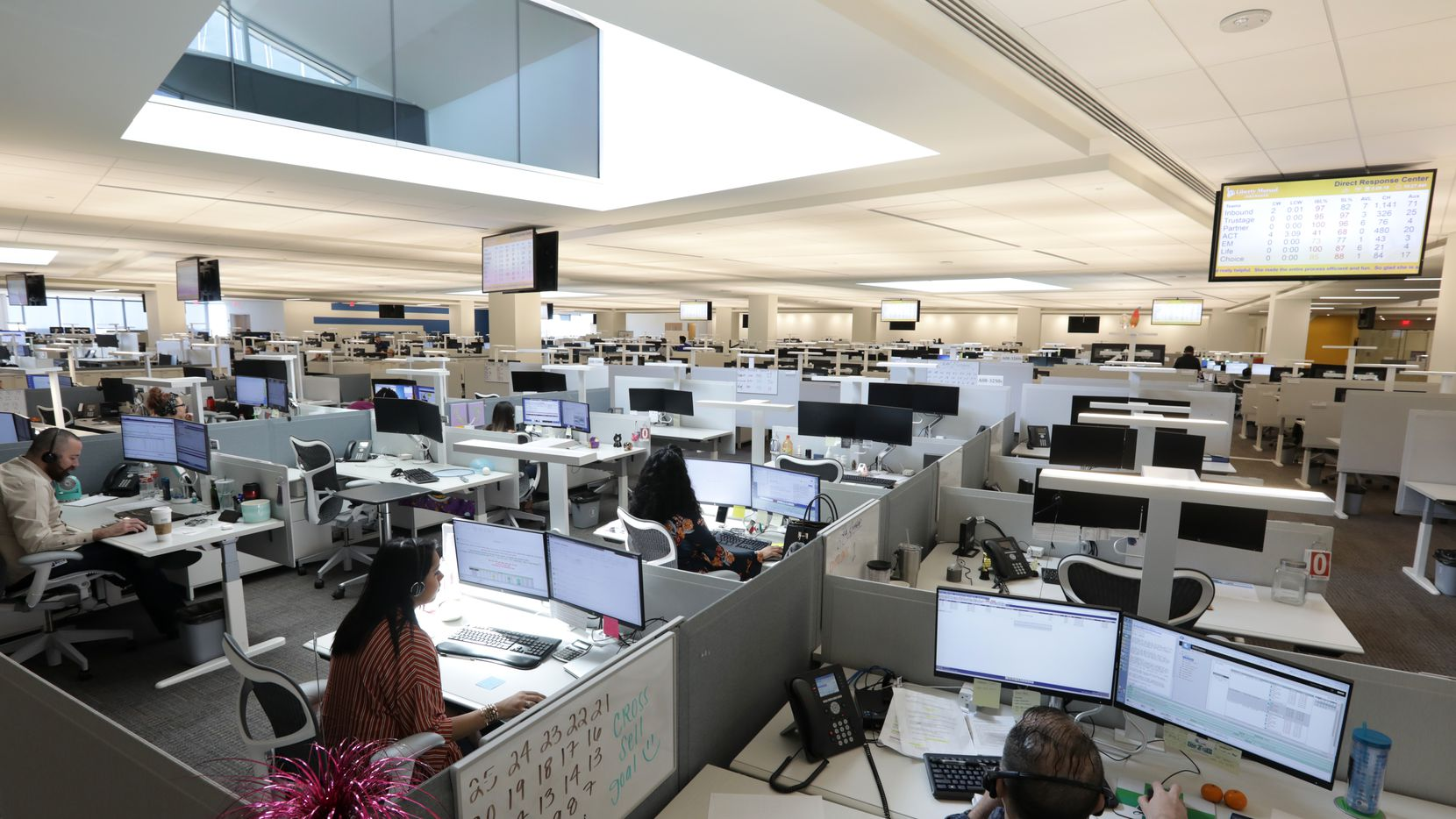 Only about 35% of Dallas-area workers are back in the office.