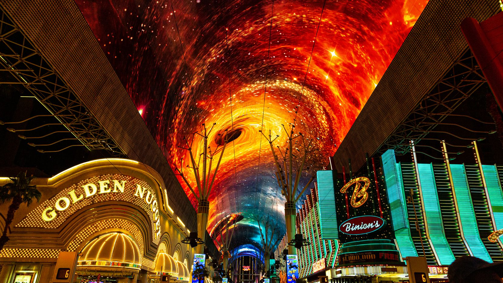 The Fremont Street Experience has upgraded its multi-sensory show and Viva Vision video canopy.