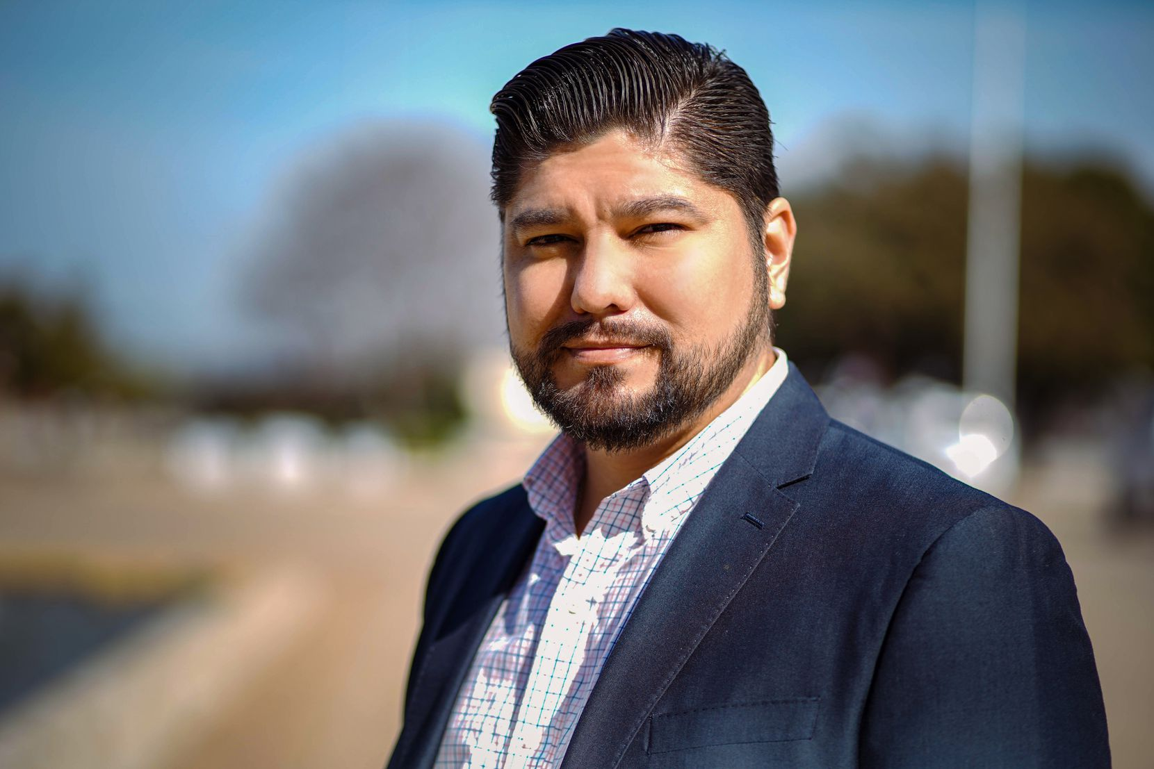 Israel Varela is a candidate for the Dallas City Council's District 7 in the May 1 election.