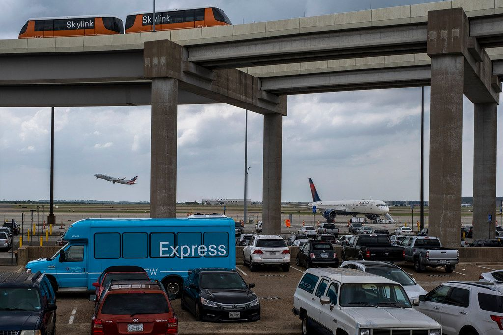 The Express South parking lot at DFW Airport is seen after it was announced that the location would be the site where the airport will be adding a new terminal on Monday, May 20, 2019.