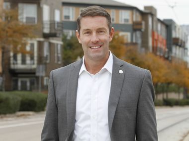 Dallas City council member Chad West is pictured in the 2019 file photo. He won his second term last month and has been named mayor pro tem.