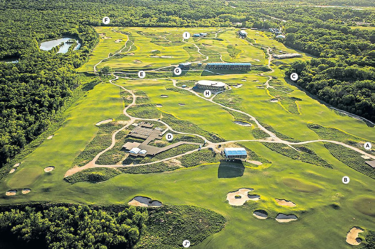 Trinity Forest Golf Club, the new home of the AT&T Byron Nelson