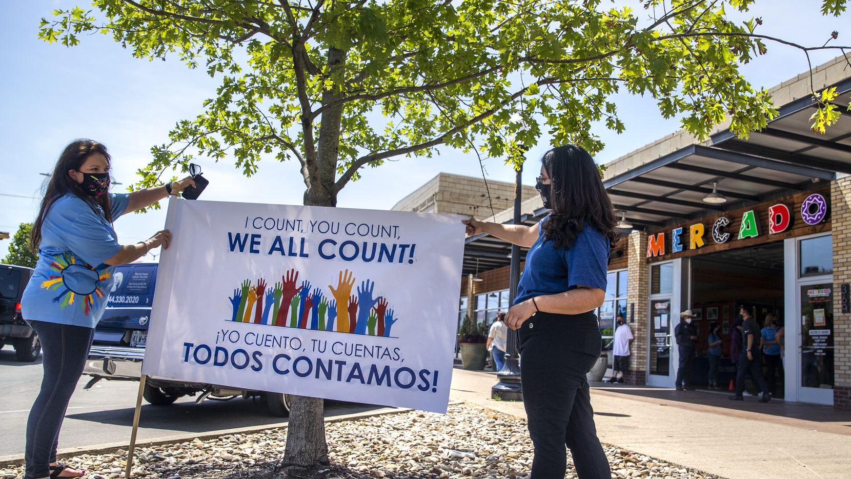 El sábado en Pleasant Grove habrá como registrarse para votar, llenar el censo y recibir mascarillas en un evento drive-thru.