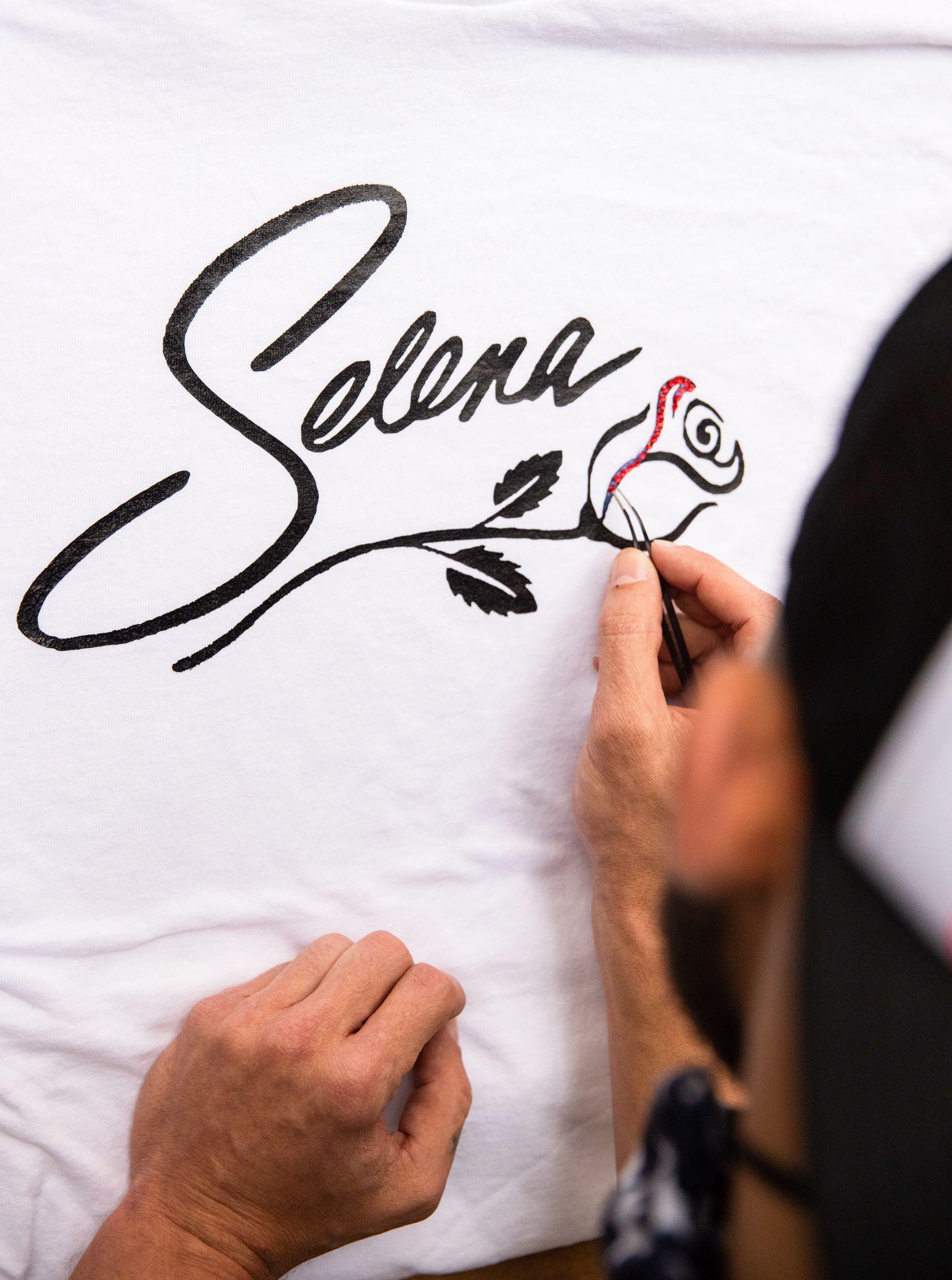 The Selena 50th birthday celebration at Jaxon Beer Garden.