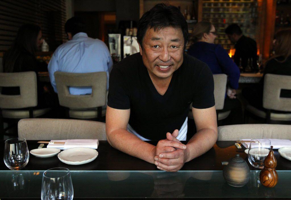 Teiichi Sakurai at his Arts District restaurant, Tei-An