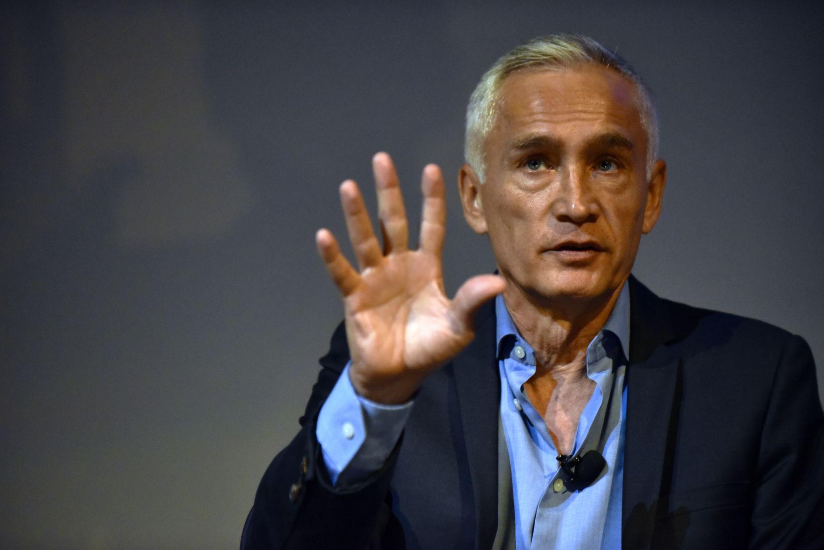 El periodista de Univision Jorge Ramos.