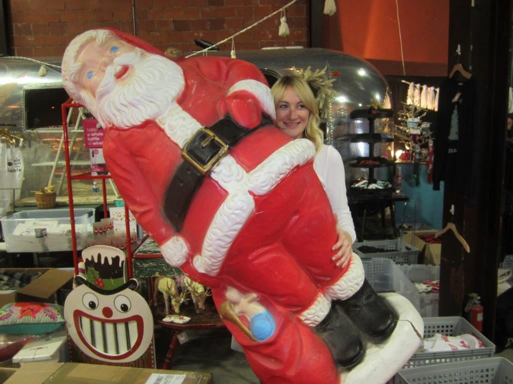 The annual Chi Omega Christmas Market includes shopping, visits from Santa and fund-raising for local charities.