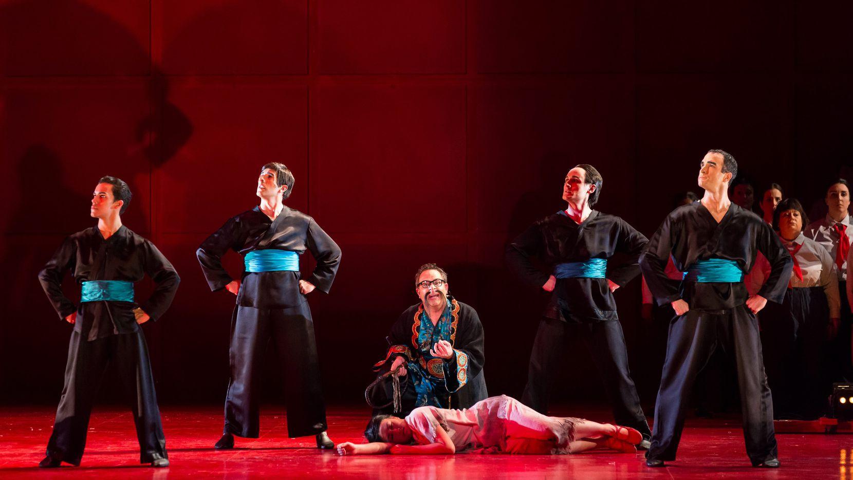 "The Houston Grand Opera performed ""Nixon in China"" in 2017."
