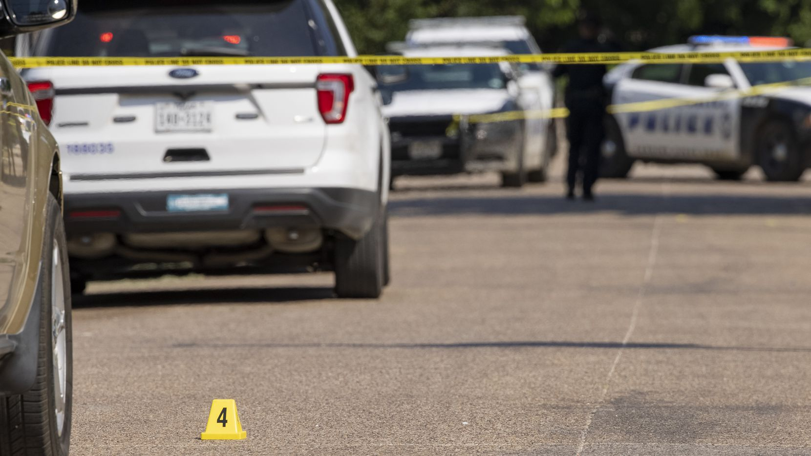 The stabbing occurred in the 2900 block of Frazier Street in South Dallas, police said.