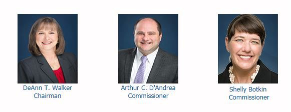 The three members of the Public Utility Commission are appointed by the governor. All three are new members.