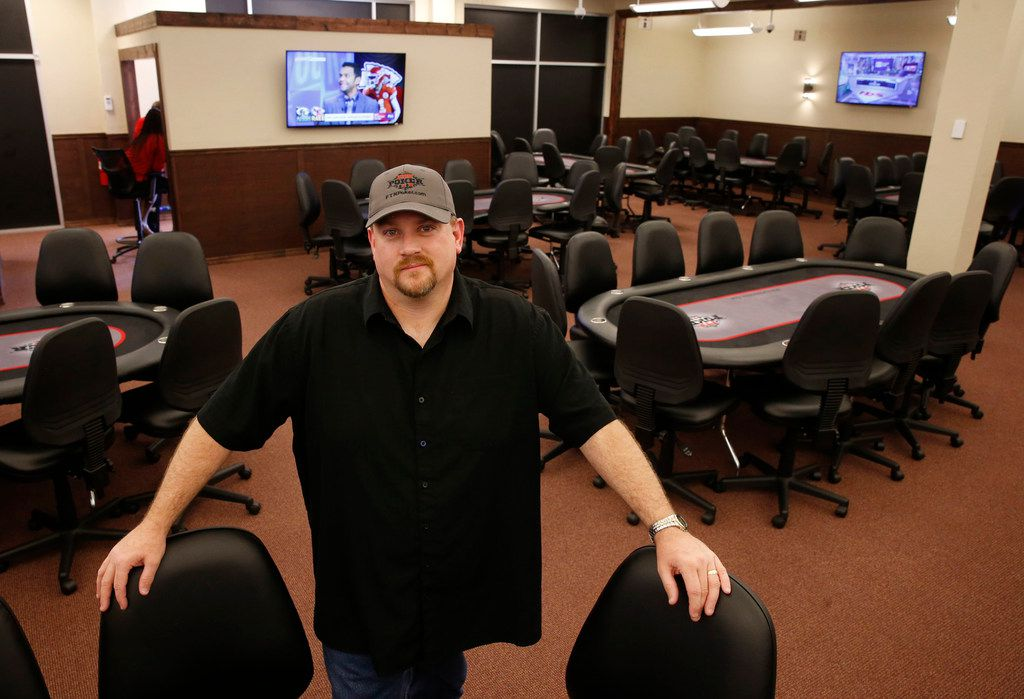 """""""I'm trying to bring poker from the shadows to the light,"""" says Jody Wheeler, who opened FTN Poker a month ago in McKinney."""