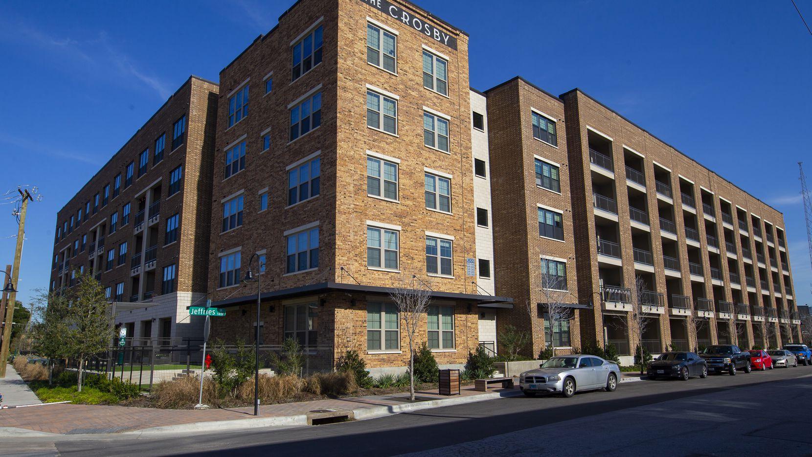 Un complejo de apartamento en Deep Ellum. A nivel nacional la renta está disminuyendo y, en menor proporción, eso también ocurre en Dallas.