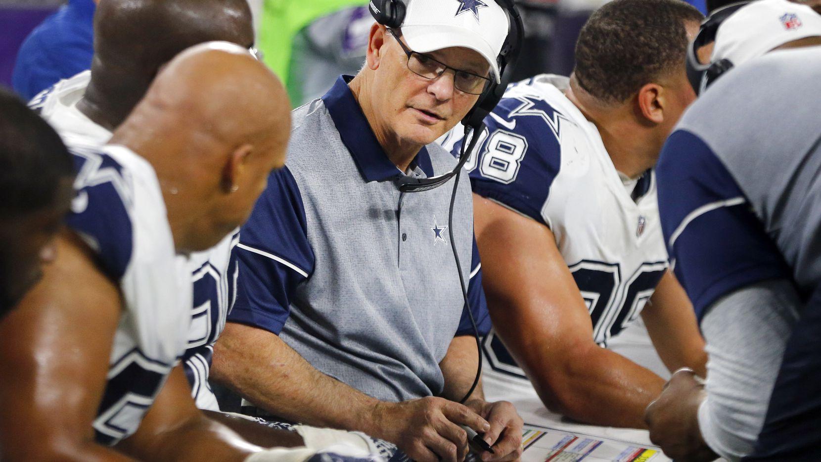 Rod Marinelli, el coordinador defensivo de los Cowboys. Foto DMN