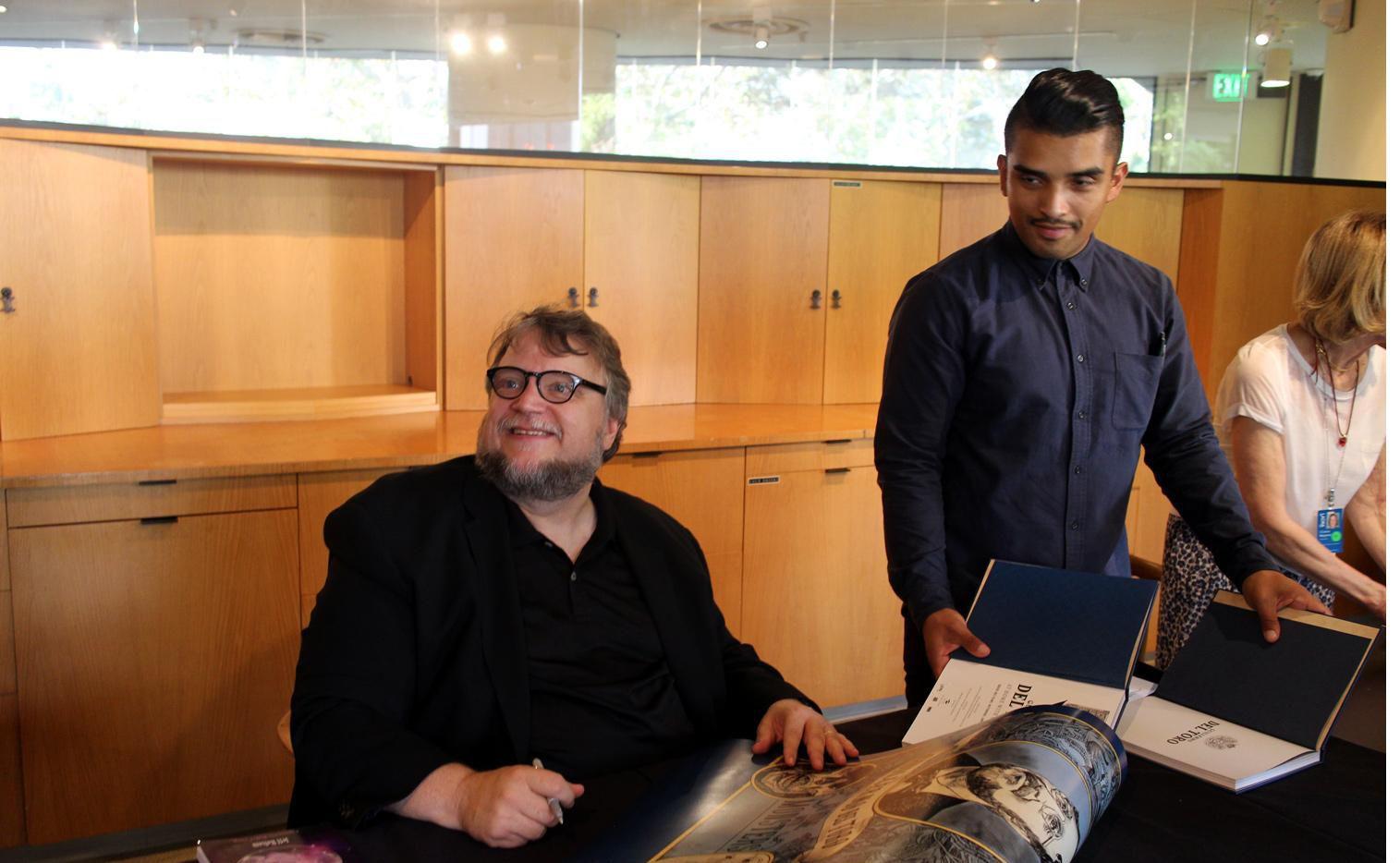 """El cineasta mexicano Guillermo del Toro dijo estar sereno ante la posibilidad de ganar el Oscar por """"The Shape of Water"""".(AGENCIA REFORMA)"""