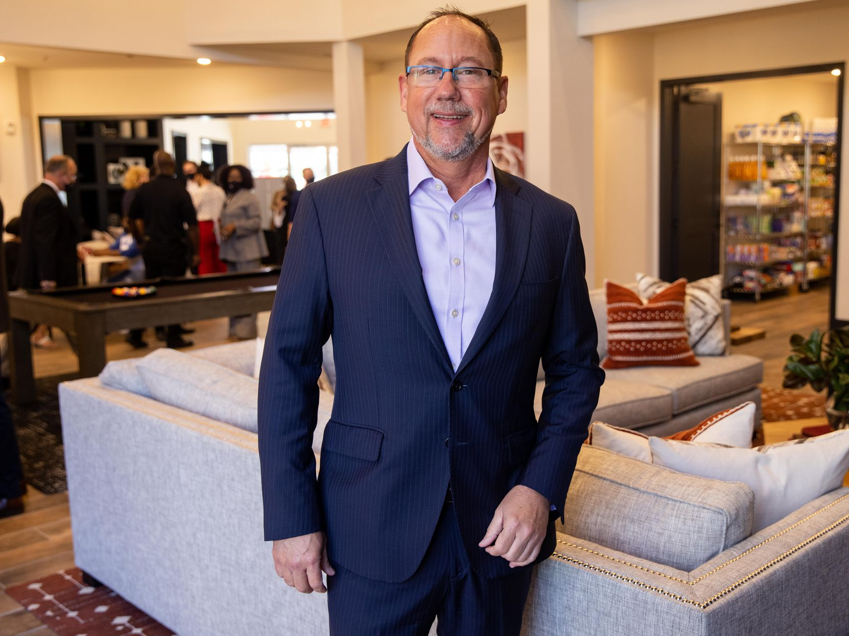 """""""Who thought this would happen here?"""" says Palladium USA CEO Tom Huth. """"There were a lot of naysayers at the beginning of this process saying you could never get it built and nobody would lease itl. As of yesterday, we are 90% leased of the entire 300 units."""""""