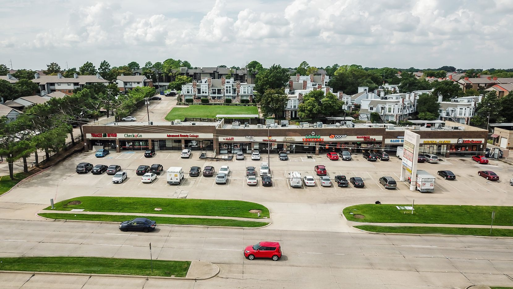 Brand Partners bought the retail center on Belt Line Road in Irving.