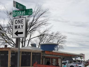 Brisket Lane has a nice ring to it. The city of Grand Prairie agreed to change Locker Street to Brisket Lane in early 2020.