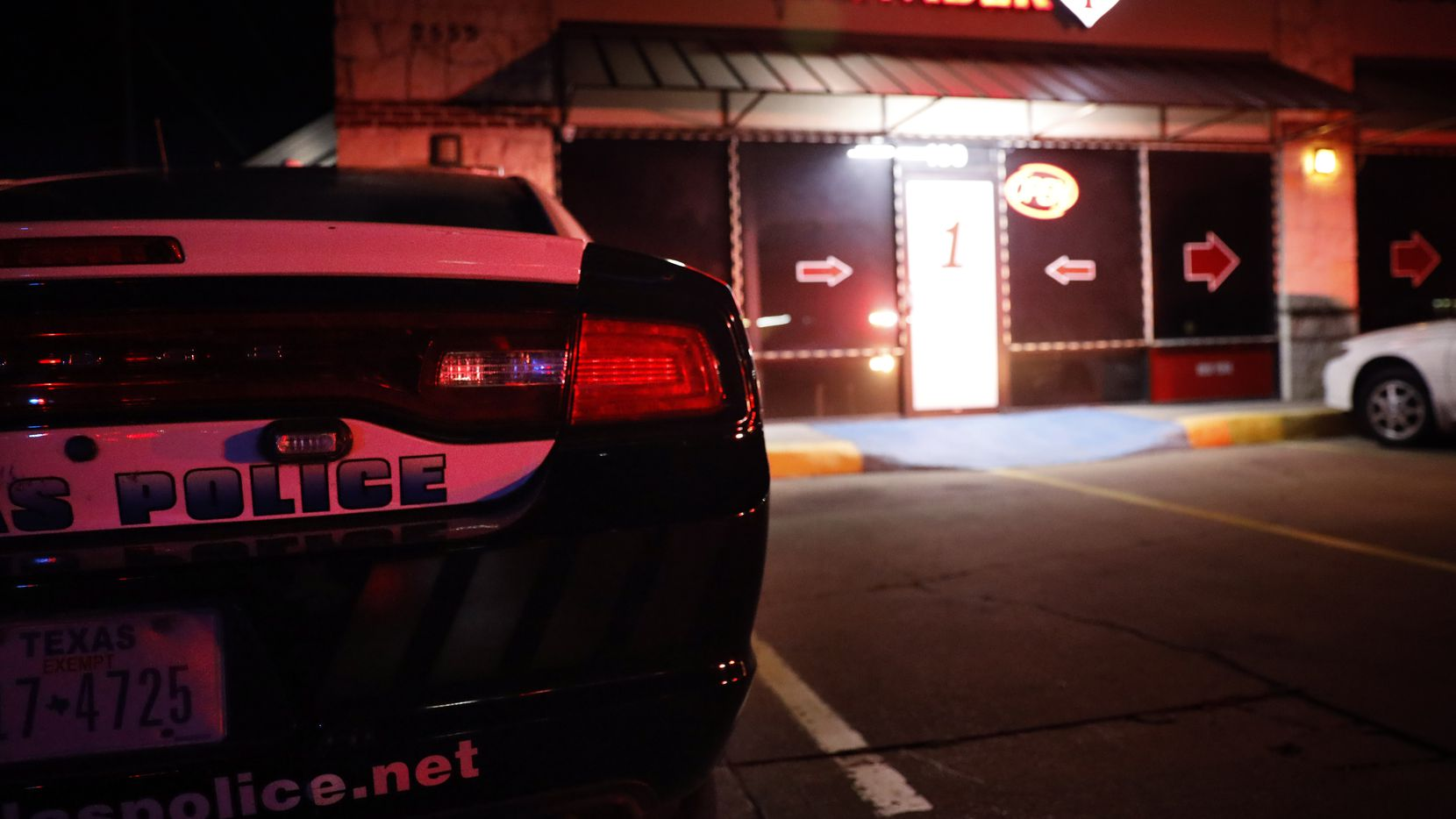 The Dallas Police vice unit raided a massage parlor named Number 1 on Walnut Hill Lane in Northwest Dallas. It has been there for three years.
