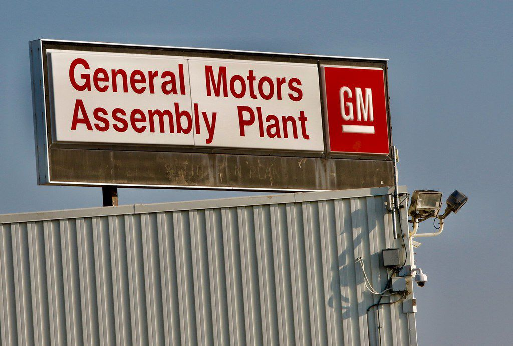The General Motors Assembly Plant in Arlington.