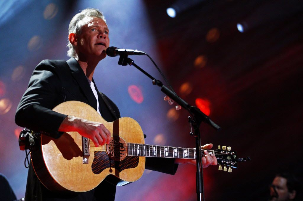 Randy Travis performs in 2013, before suffering a stroke that left him for many months without his voice.