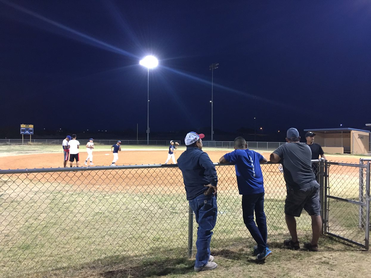 Baseball is a favorite pastime in the small Texas town of Presidio as well as in neighboring Ojinaga just across the border in Mexico.