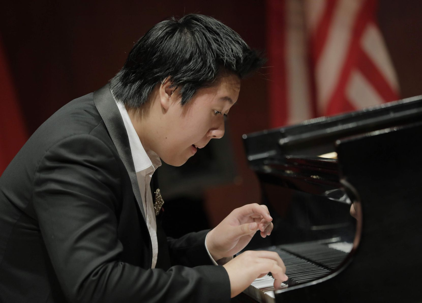 """Shuan Hearn Lee from Australia performed during the Cliburn International Junior Piano Competition and Festival in 2019. The Cliburn on Monday began its """"Cliburn at Home"""" initiative, which includes streamed performances from past Cliburn competitions."""