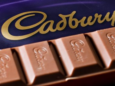 British candy maker Cadbury was acquired by Kraft Foods in a hostile takeover in 2010. (LEON NEAL/AFP/Getty Images)