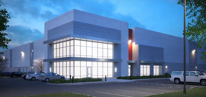 HomeGoods new distribution center is in the Carter Park East industrial park.
